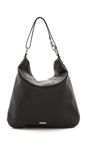 Rebecca Minkoff Flat Studs Milo Hobo Bag