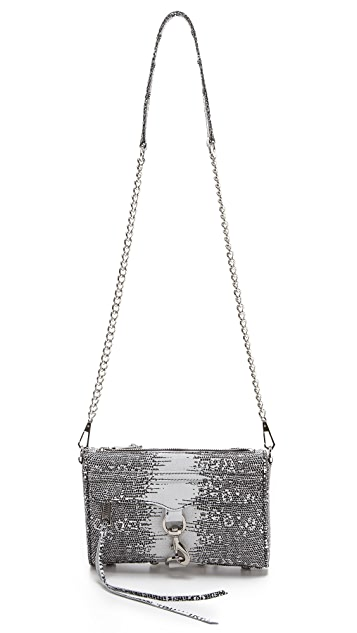 Rebecca Minkoff Printed Lizard Mini MAC Bag