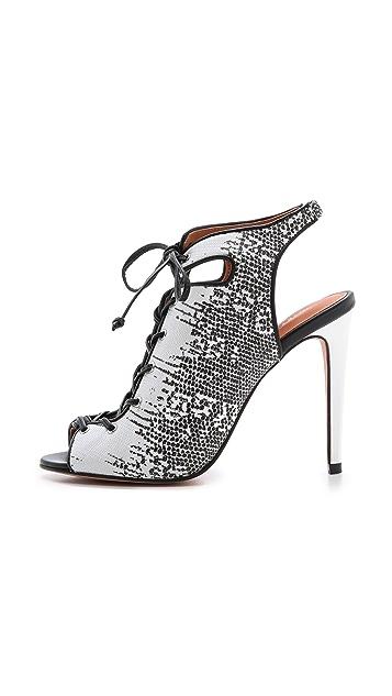 Rebecca Minkoff Rio High Heel Lace Up Sandals