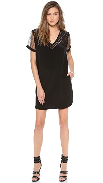 Rebecca Minkoff Lorelei V Neck Dress