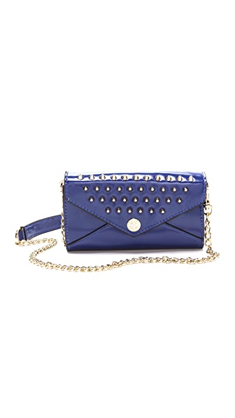 Rebecca Minkoff Mini Wallet on a Chain with Studs