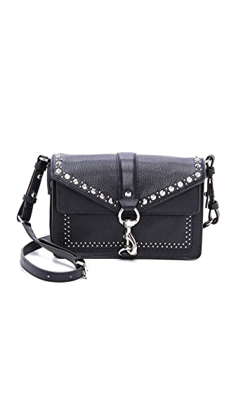 Rebecca Minkoff Hudson Moto Mini Bag with Studs