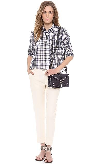 Rebecca Minkoff Hudson Moto Mini Bag with Studs