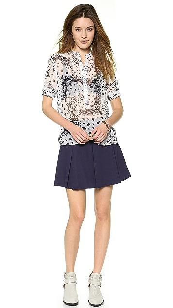 Rebecca Minkoff Liv Pleated Skirt