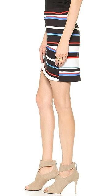 Rebecca Minkoff Camilla Striped Skirt
