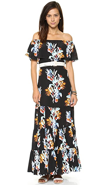Rebecca Minkoff Dev Pineapple Dress