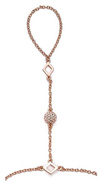 Rebecca Minkoff Crystal Hand Chain