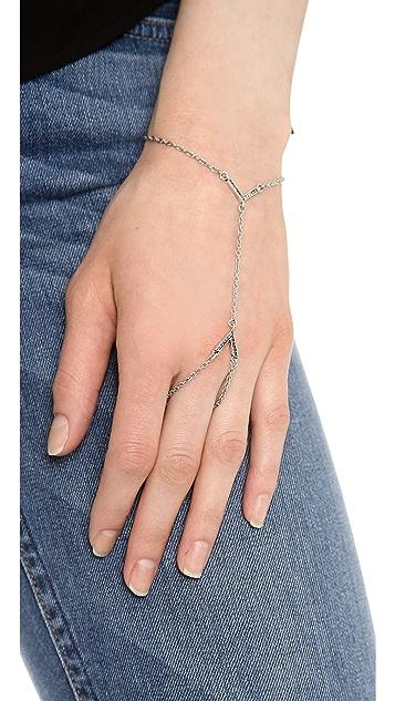 Rebecca Minkoff Double V Hand Chain