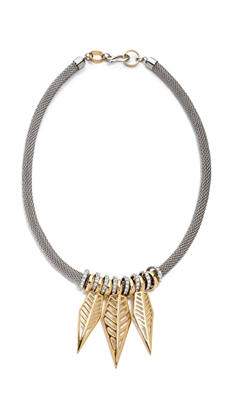 Rebecca Minkoff 3 Open Blade Necklace