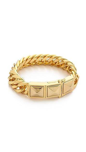 Rebecca Minkoff Curbs Stud Bracelet