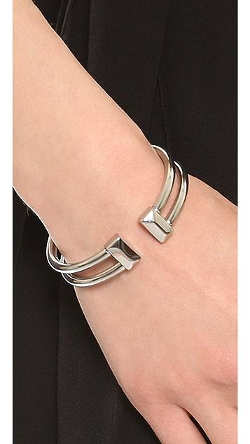 Rebecca Minkoff Rectangle Stud Hinge Cuff Bracelet