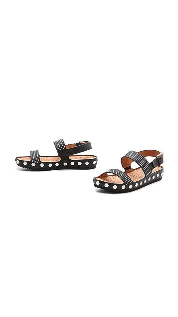 Rebecca Minkoff Talia Too Flat Sandals