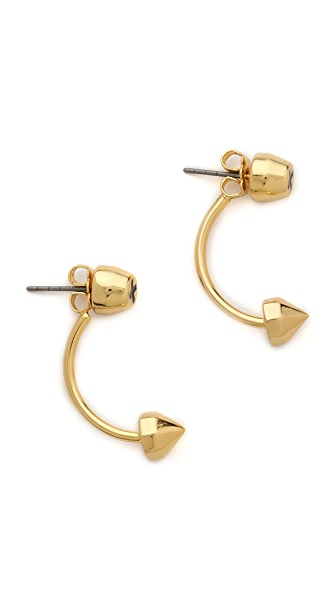Rebecca Minkoff X Front To Back Post Earrings