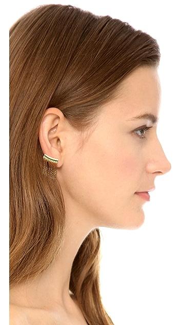 Rebecca Minkoff Fringe Ear Cuffs
