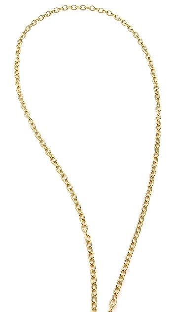 Rebecca Minkoff Fringe Tassel Necklace