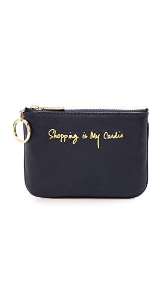 Rebecca Minkoff Shopping Is My Cardio Cory Pouch