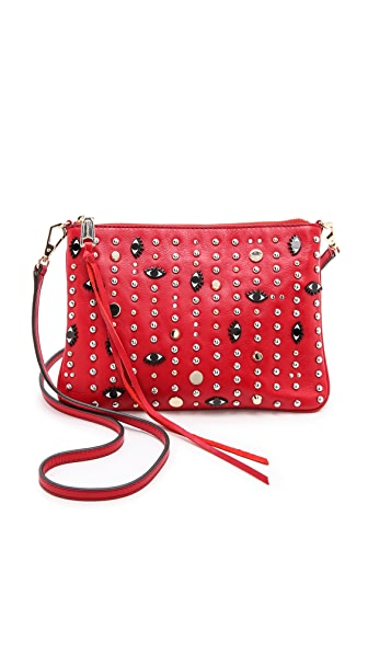 Rebecca Minkoff Ascher Cross Body Bag with Eyes & Studs
