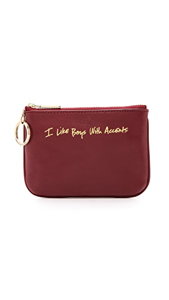 Rebecca Minkoff I Like Boys with Accents Cory Pouch
