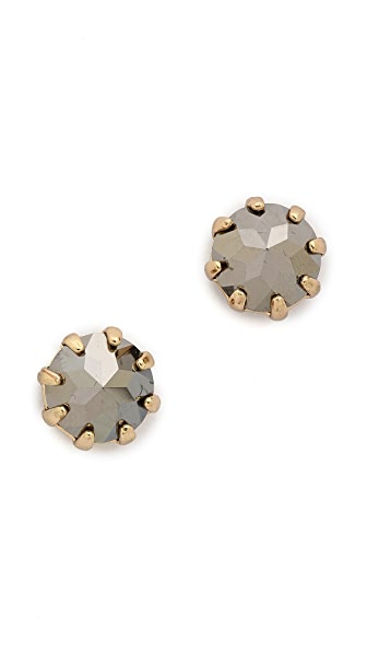Rebecca Minkoff Rhinestone Stud Earrings