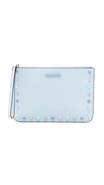 Rebecca Minkoff Kerry Wristlet with Studs