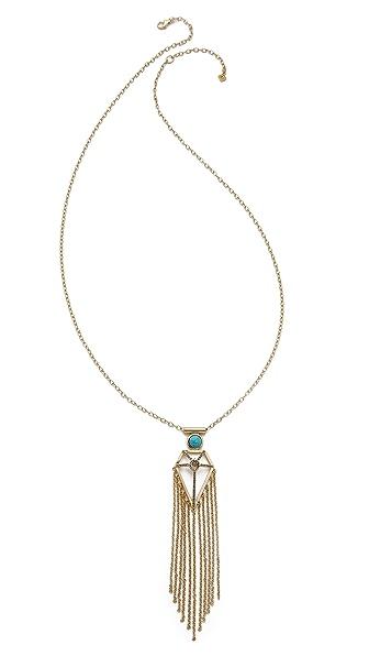 Rebecca Minkoff Boho Fringe Necklace