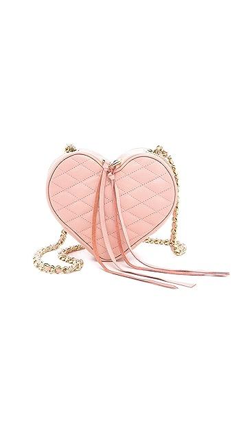Rebecca Minkoff Heart Cross Body Bag