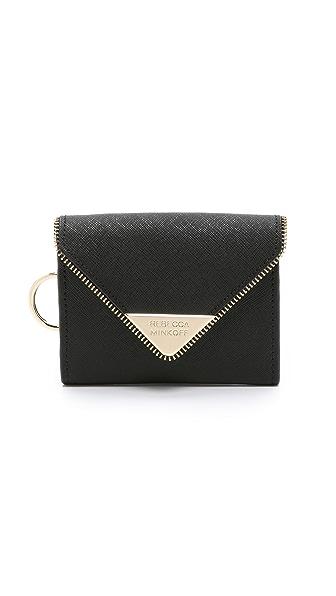 Rebecca Minkoff Molly Metro Wallet - Black