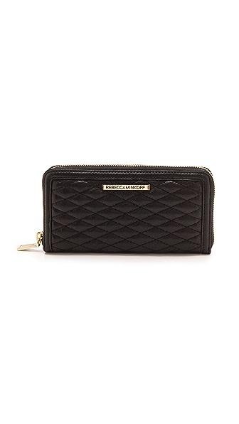 Rebecca Minkoff Quilted Ava Zip Wallet