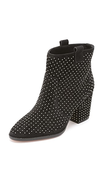 Rebecca Minkoff Blake Studded Suede Booties