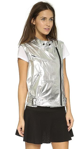 Rebecca Minkoff RM Active Metallic Vest