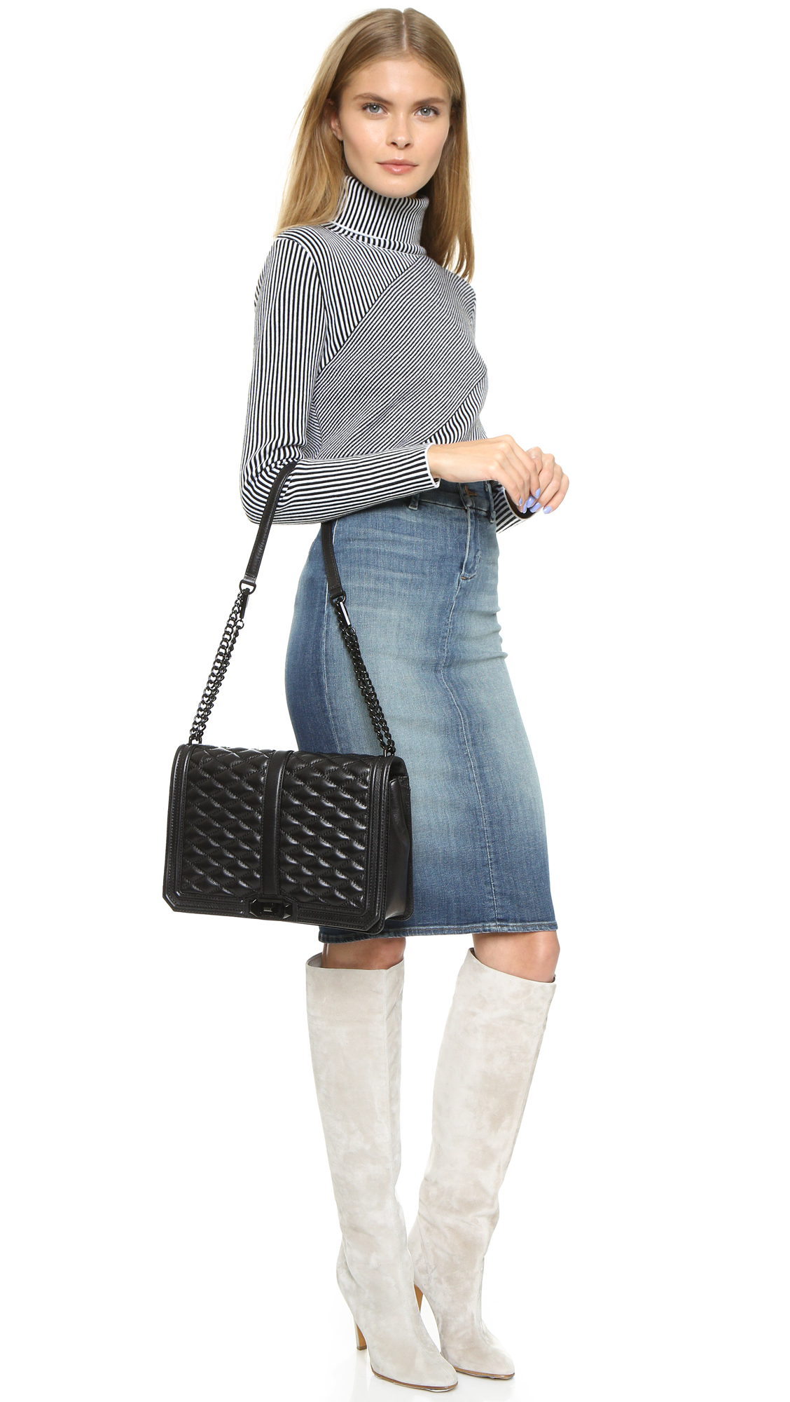 Rebecca Minkoff Rebecca Minkoff Love Jumbo Shoulder Bag