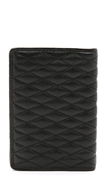 Rebecca Minkoff Quilted Passport Holder
