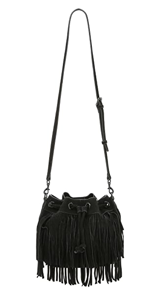 Rebecca Minkoff Fringe Mini Fiona Bucket Bag
