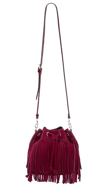 Rebecca Minkoff Fringe Mini Fiona Bucket Bag
