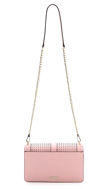 Rebecca Minkoff Perforated Love Crossbody Bag
