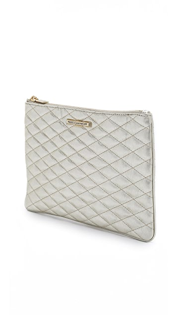 Rebecca Minkoff Quilted Love Pouch