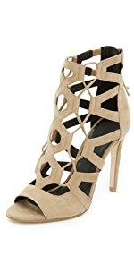 Roxie Lace Up Sandals                Rebecca Minkoff