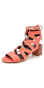 Issa Gladiator Sandals                Rebecca Minkoff