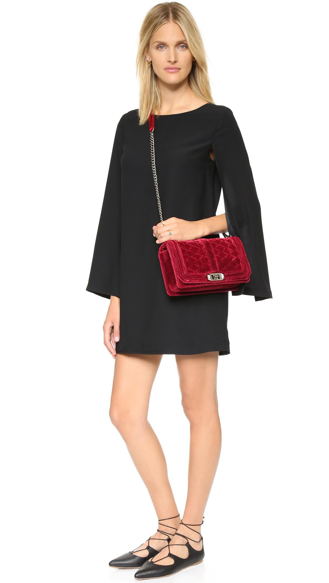 Rebecca Minkoff Velvet Love Cross Body Bag  0408c29f5e208