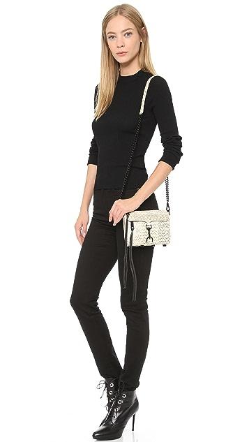 Rebecca Minkoff Snakeskin Micro MAC Bag