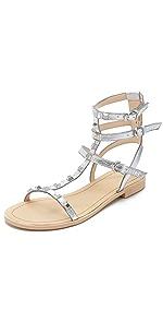 Georgina Studded Sandals                Rebecca Minkoff