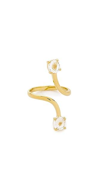 Rebecca Minkoff Stone Twist Ring