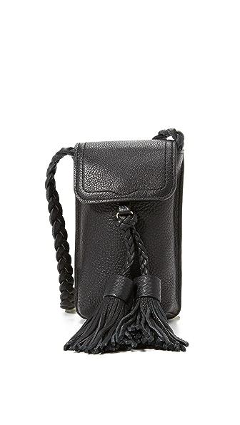 Rebecca Minkoff Isobel Phone Cross Body Bag - Black