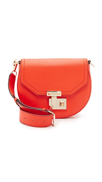 Rebecca Minkoff Paris Saddle Bag - Red