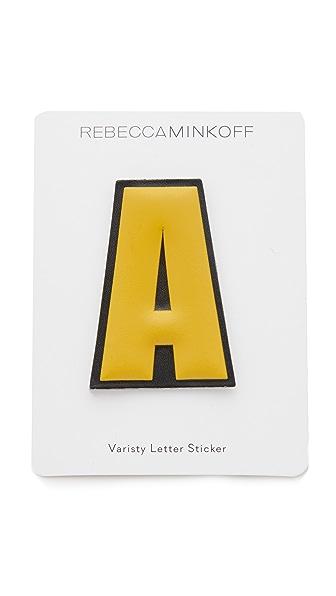 Rebecca Minkoff Faux Letter Sticker