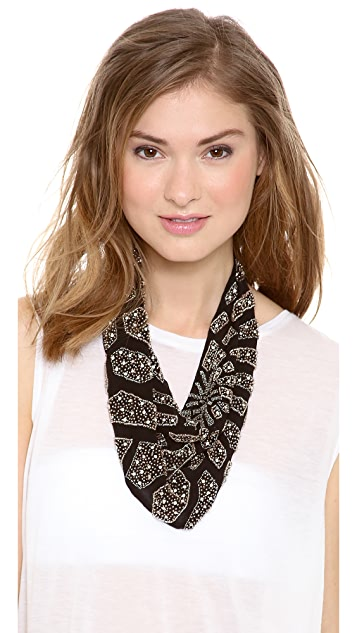 ROARKE new york Sunburst Bib Necklace