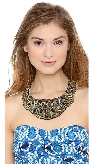 ROARKE new york Dakota Scalloped Necklace