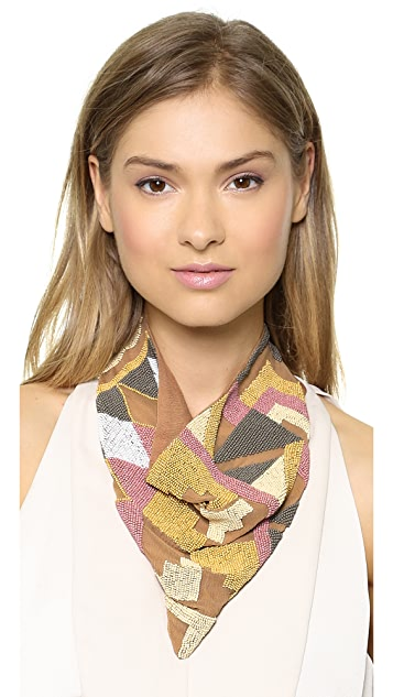 ROARKE new york Ghana Bib Necklace