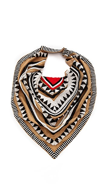 ROARKE new york Tulum Bib Necklace