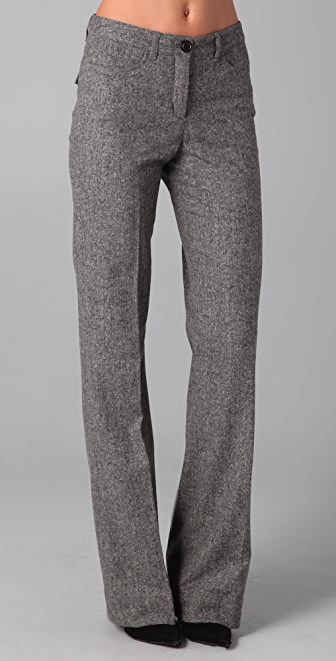 Robbi & Nikki Tweed Wide Leg Pants